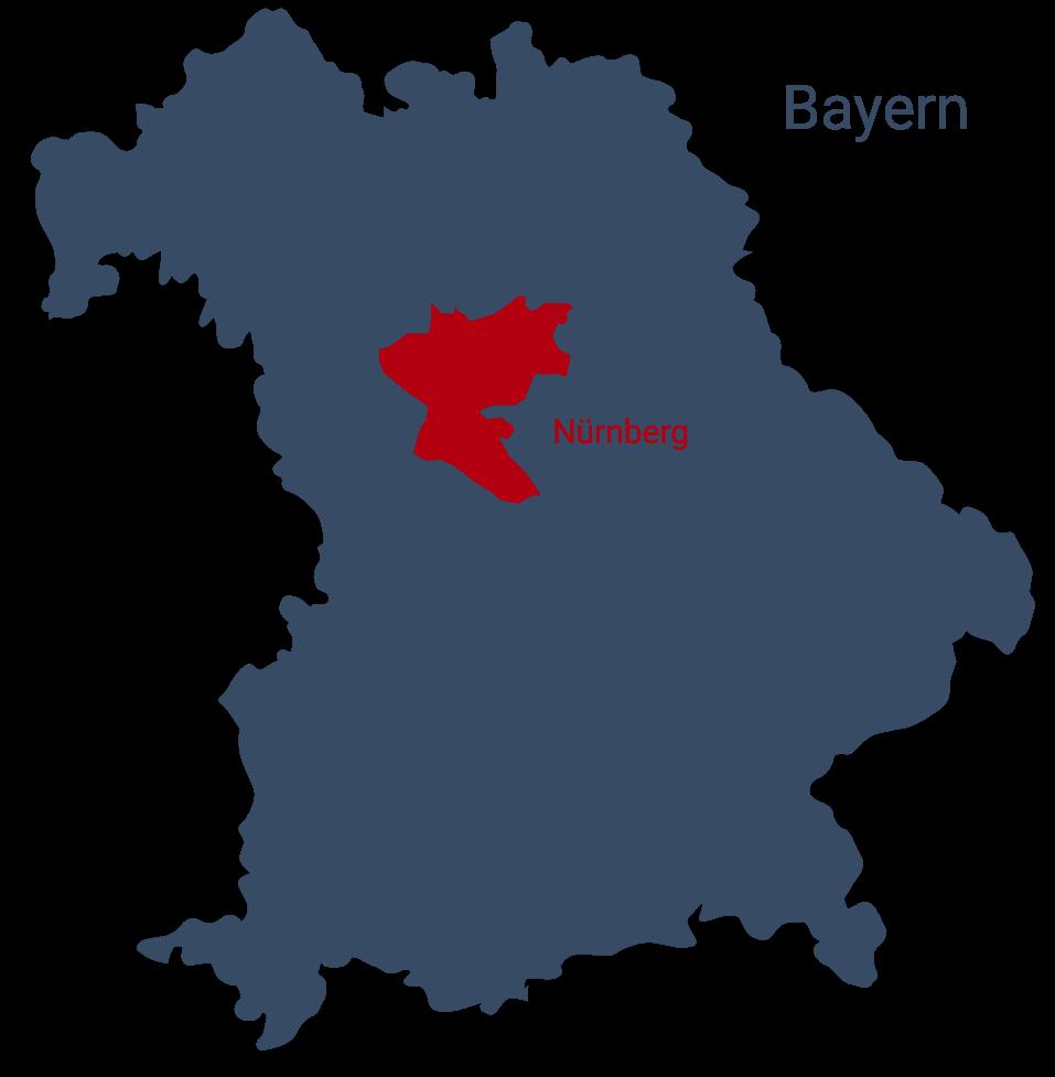 Kassandra-Bayern-Karte